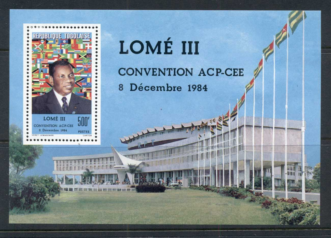 Togo 1984 Economic Convention Lome MS MLH
