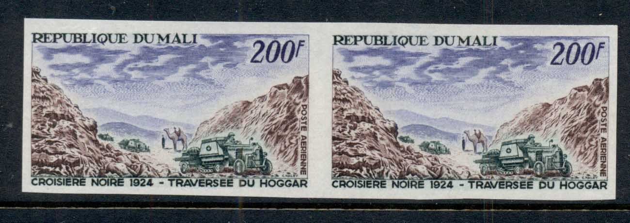 Mali 1967 Land Cruisers in Hogga Mountain Pass IMPERF pr MUH
