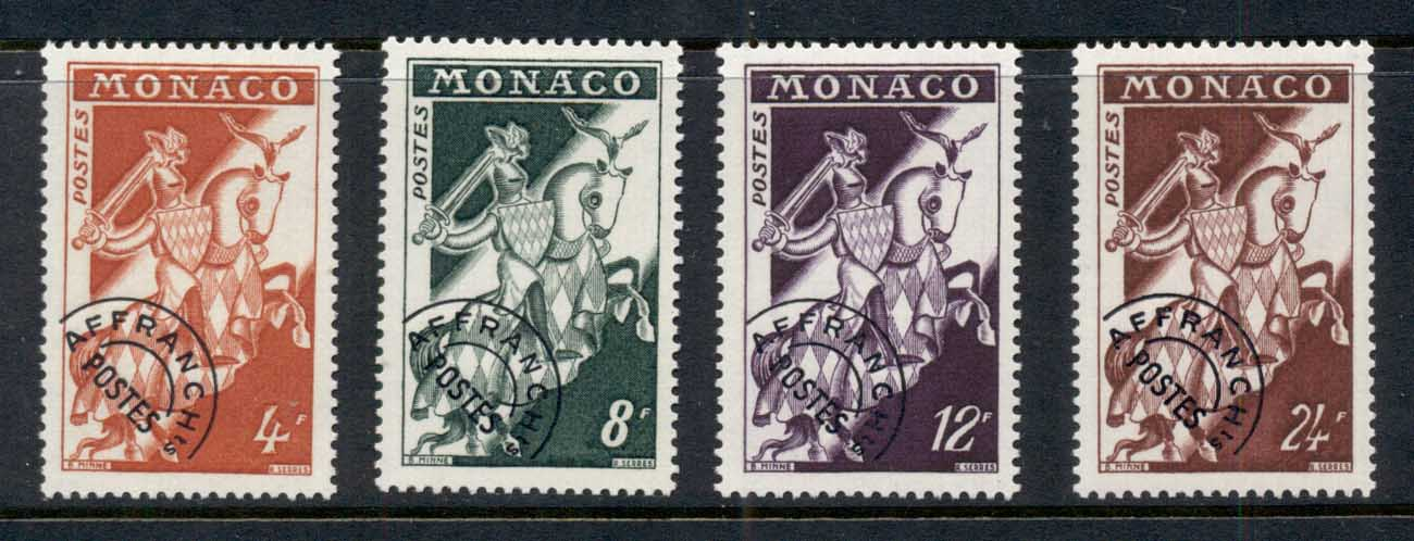 Monaco 1954 Knight in Armour precancel MUH