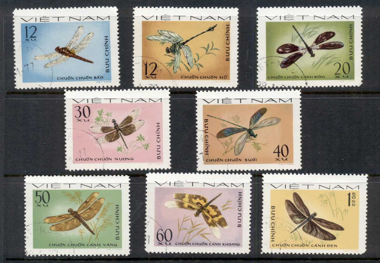 Vietnam 1977 Insects, Dragonflies CTO