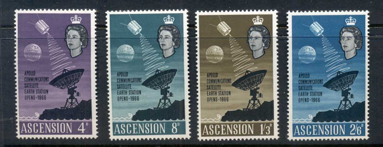Ascension Is 1966 Apollo Communications Satellite Station MUH