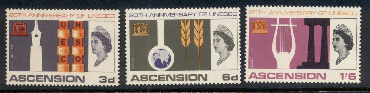 Ascension Is 1967 UNESCO MLH