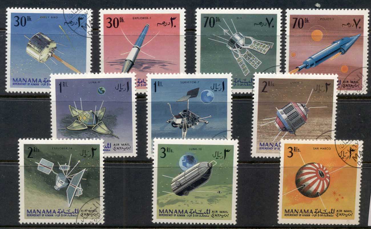 Manama 1968 Space Research, Space probes CTO