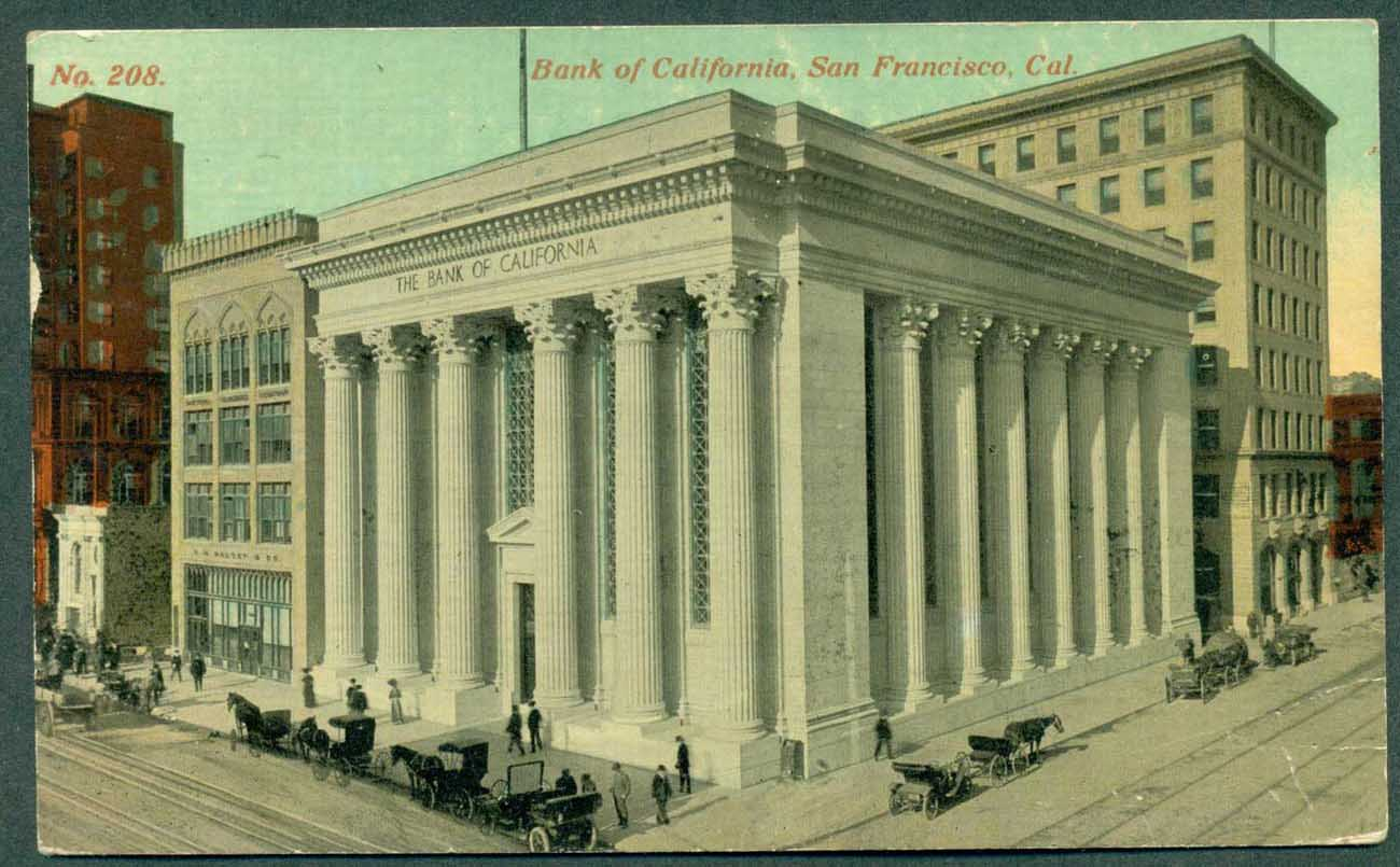 USA 1915 Bank of California, used San Francisco Panama Pacific Exhibition franked with SC #402, Perf 10 to Sydney
