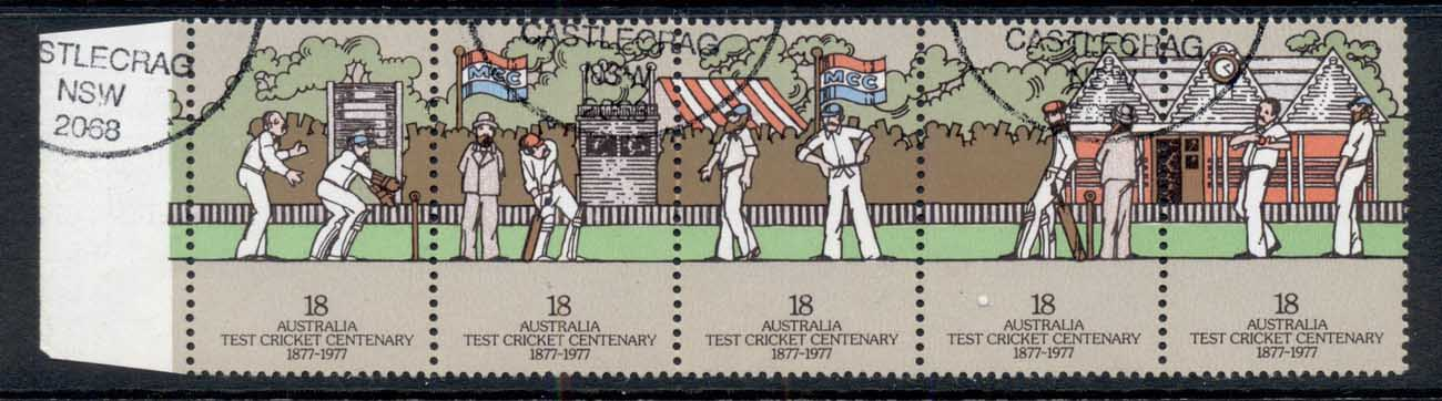 Australia 1977 centenary of Test Cricket 18c str4 FU