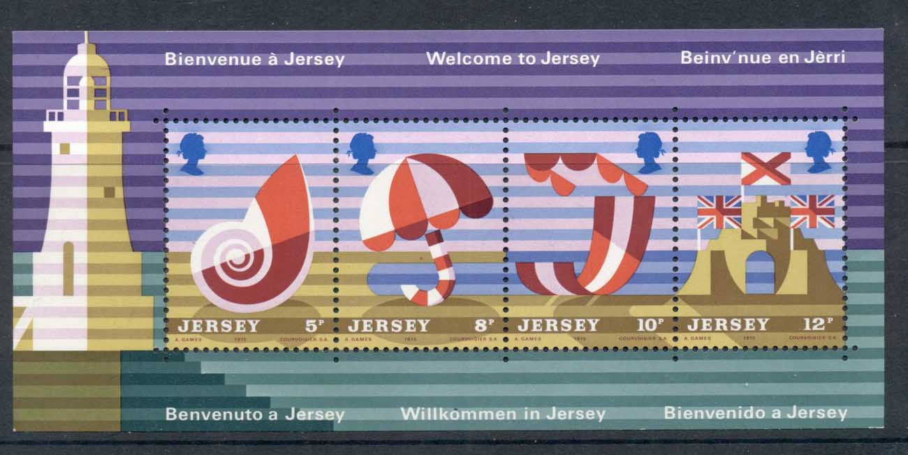 Jersey 1975 Tourism Posters MS MUH