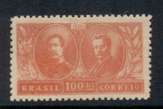 Brazil 1920 Visit of the King & Queen of Belgium MLH