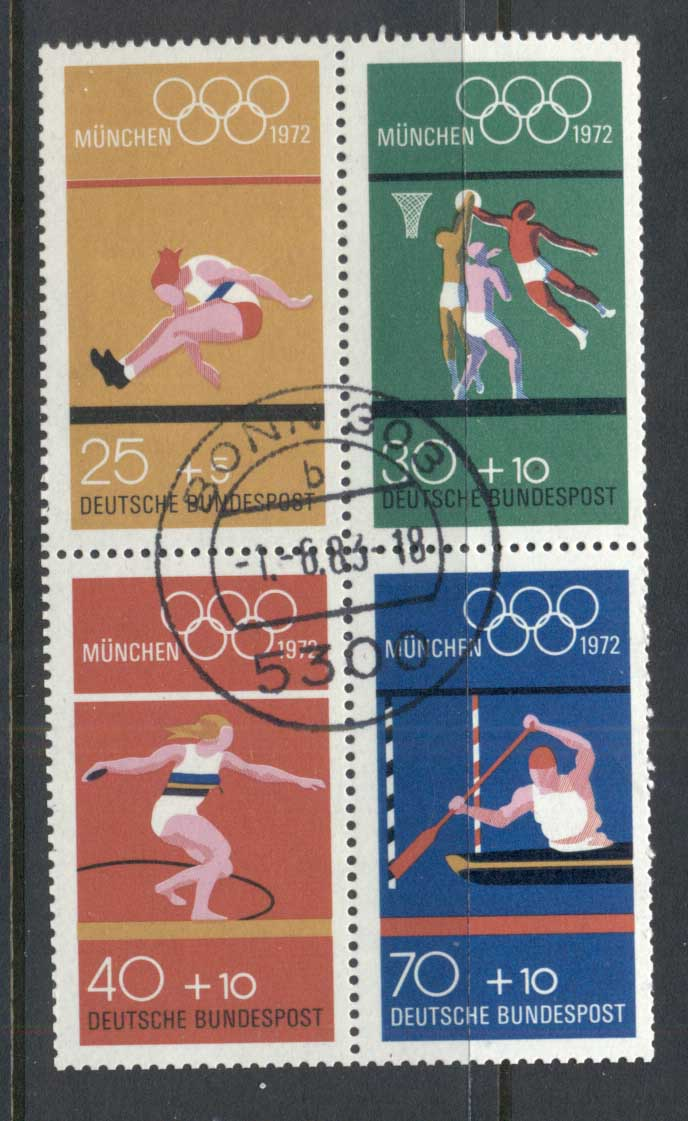 Germany 1970 Summer Olympics Municg FU