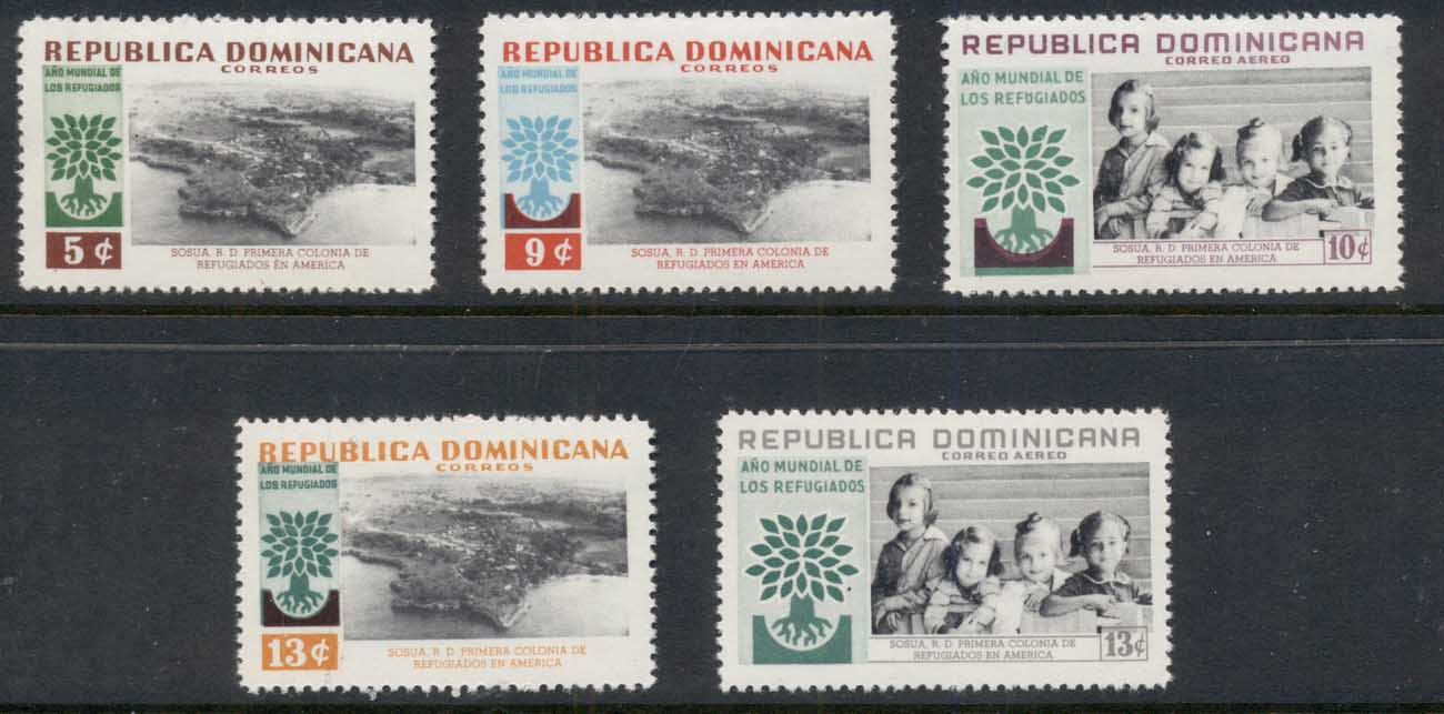 Dominican Republic 1960 World Refugee Year MUH