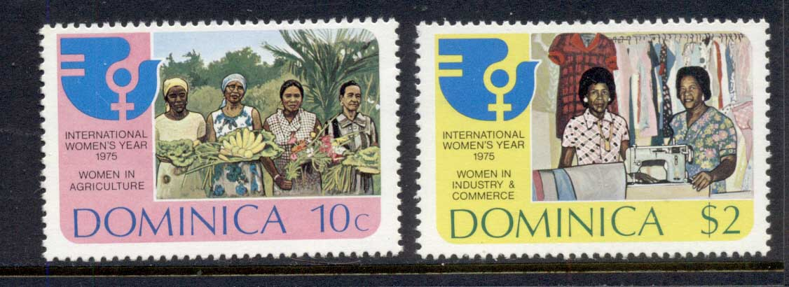Dominica 1975 IWY Intl. Women's Year MUH