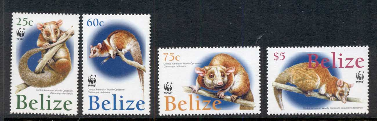 Belize 2004 WWF American Wooly Opossum MUH