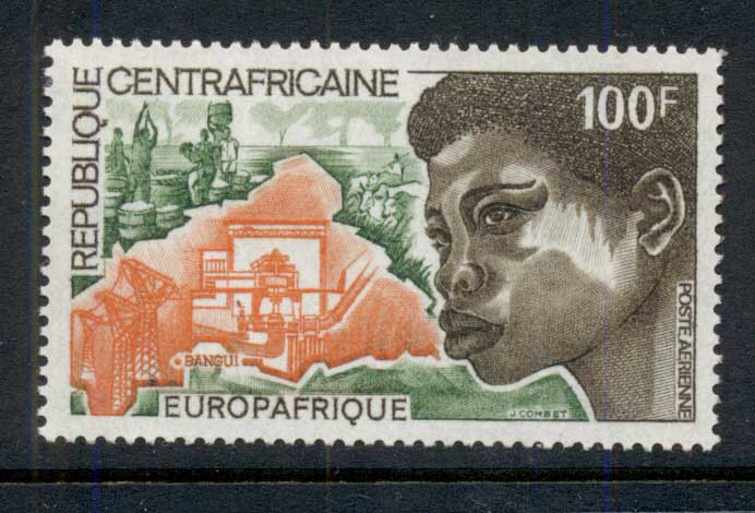 Central African Republic 1973 Europafrica MUH