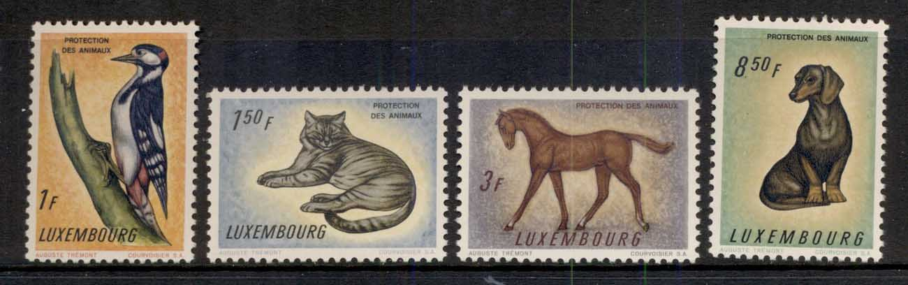 Luxembourg 1961 Animal Protection MUH