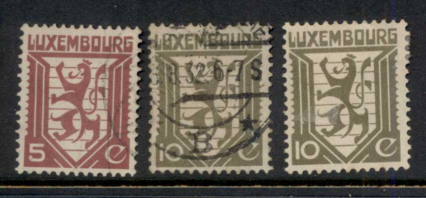 Luxembourg 1930 Coat of Arms FU