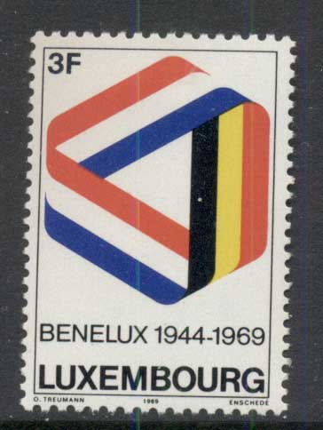 Luxembourg 1969 Customs Union MLH