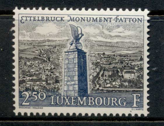 Luxembourg 1961 General Patton memorial MUH