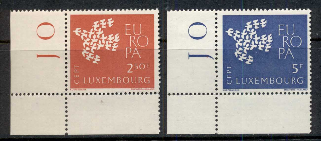 Luxembourg 1959 Europa MLH
