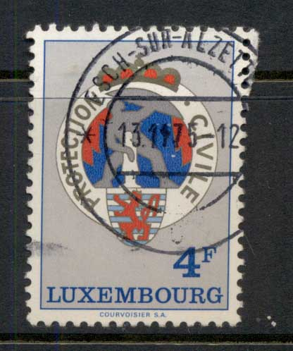 Luxembourg 1975 Civil Defence FU