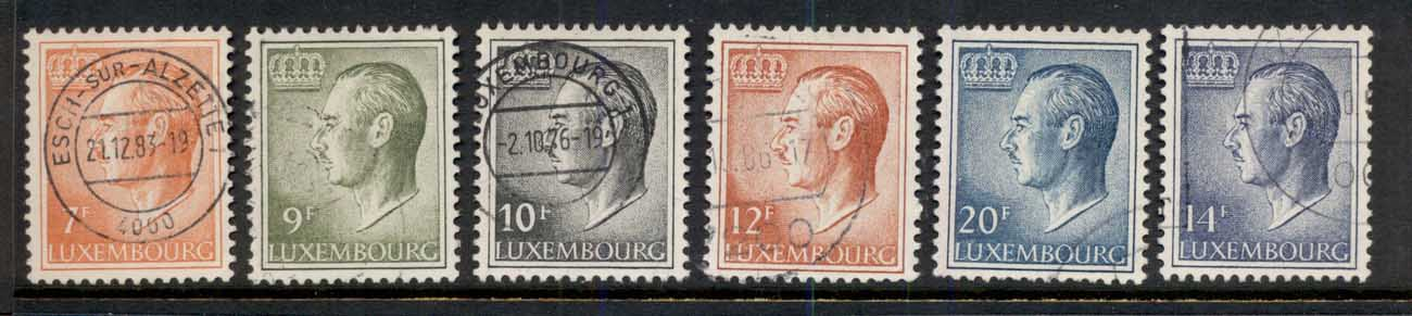 Luxembourg 1975-91 Grand Duke Asst FU