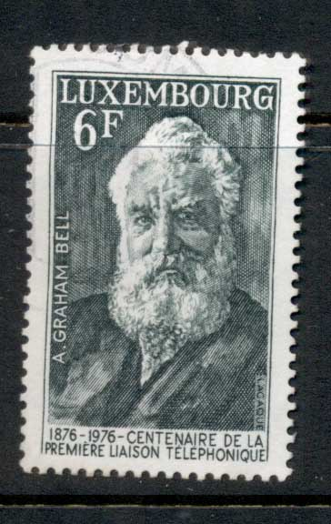 Luxembourg 1976 Telephone Cent FU