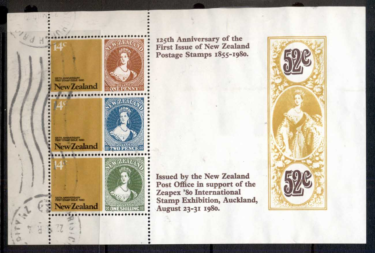 New Zealand 1980 Stamp Anniversary MS FU