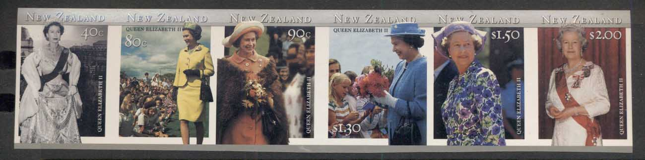 New Zealand 1980's QEII Loyalty str5 colour MUH