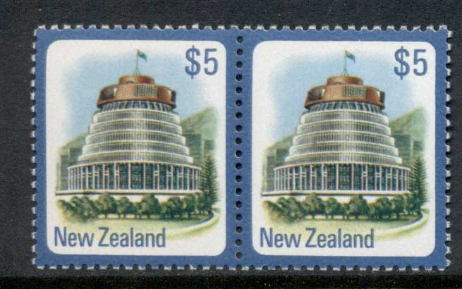 New Zealand 1977-82 Parliament Building $5 pr MUH