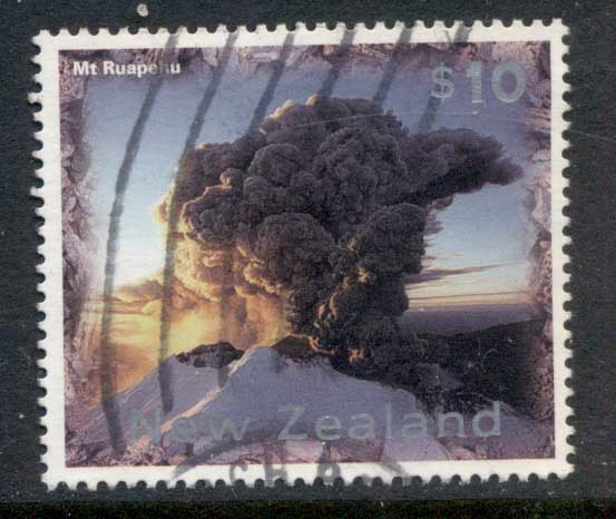 New Zealand 1997 Mt Ruapehu $10 FU