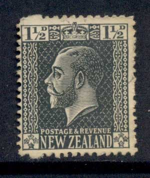 New Zealand 1915-22 KGV Portrait 1.5d FU