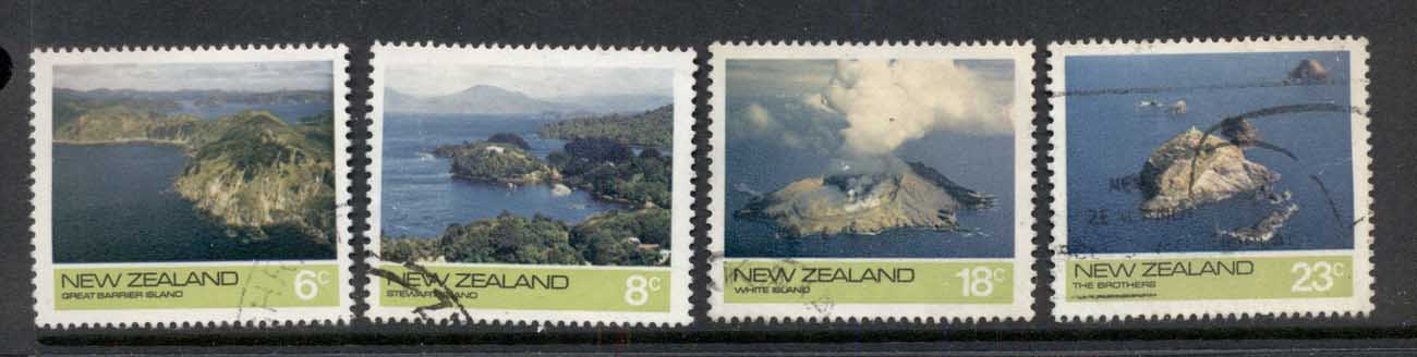 New Zealand 1974 Views, Offshore Islands FU