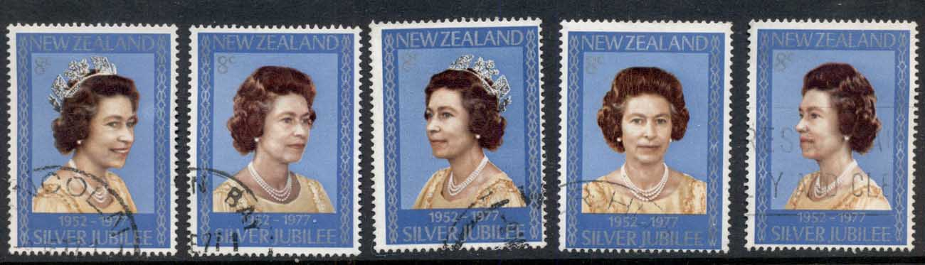 New Zealand 1977 QEII Silver Jubilee FU