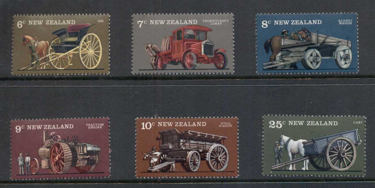 New Zealand 1976 Farm Vehicles MUH