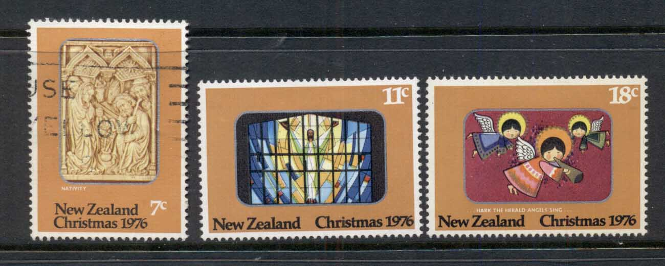 New Zealand 1976 Xmas MLH/ FU