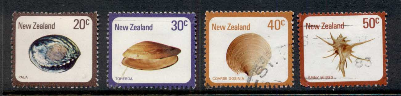 New Zealand 1978 Seashells FU