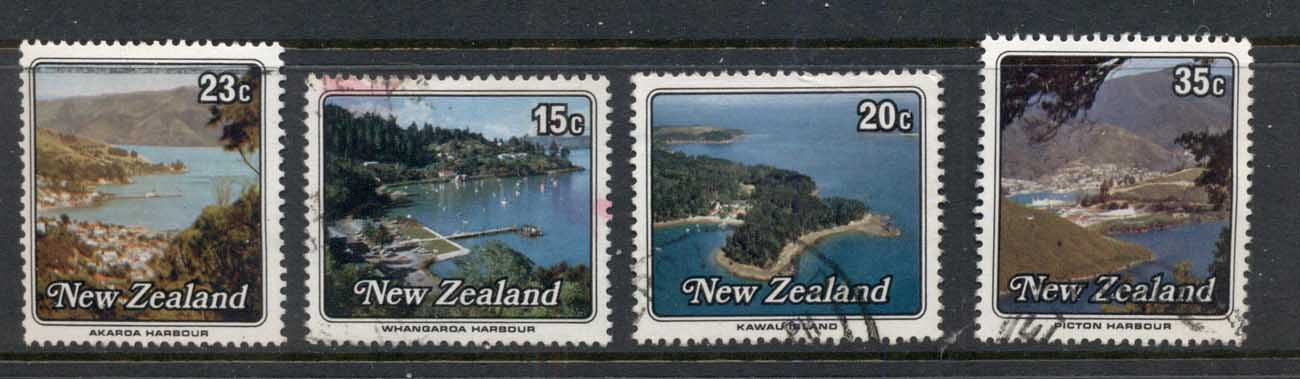 New Zealand 1979 Views, Small Harbours FU