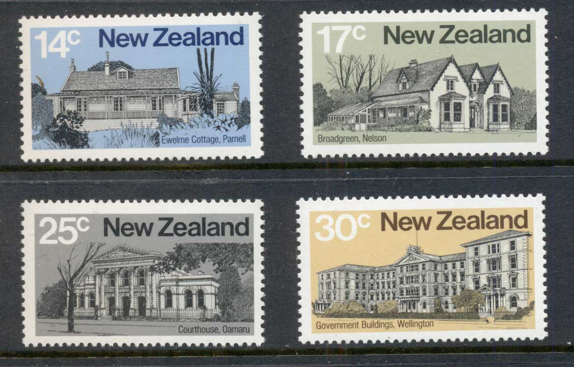 New Zealand 1980 Architecture MUH