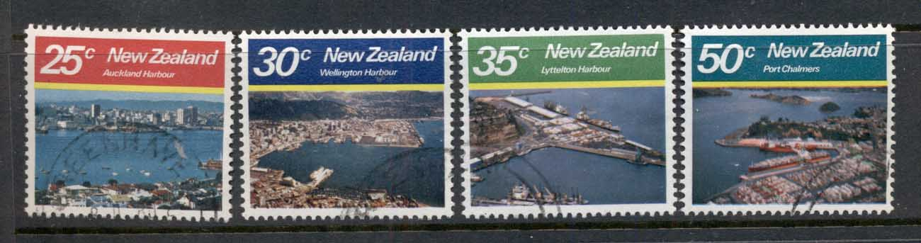 New Zealand 1980 Views, Harbours FU