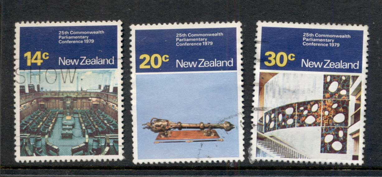 New Zealand 1979 Commonwealth Parliamentary Conference FU