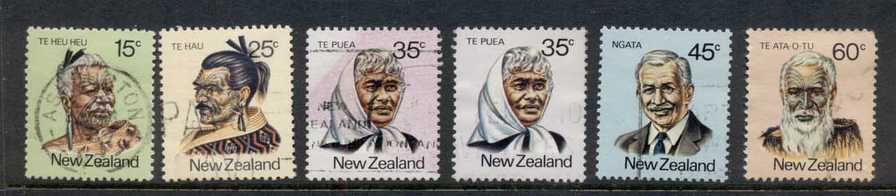 New Zealand 1980 Maori leaders FU