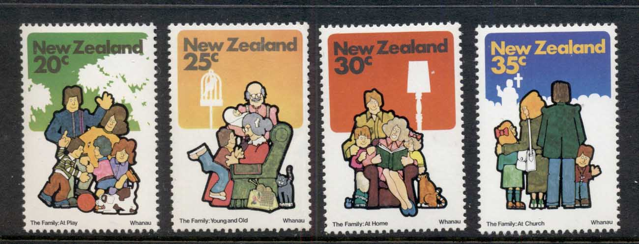 New Zealand 1981 Families MUH
