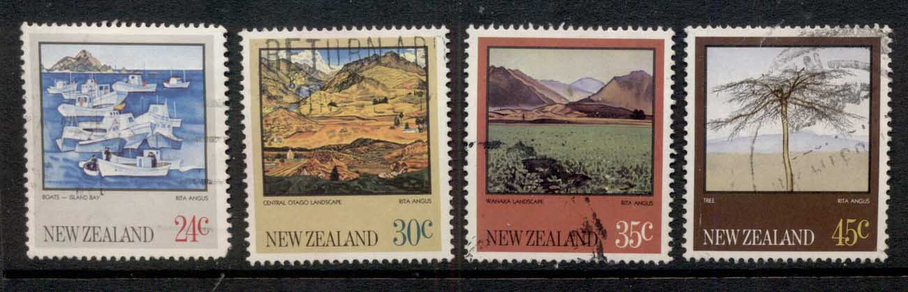 New Zealand 1982 Views. Landscapes FU