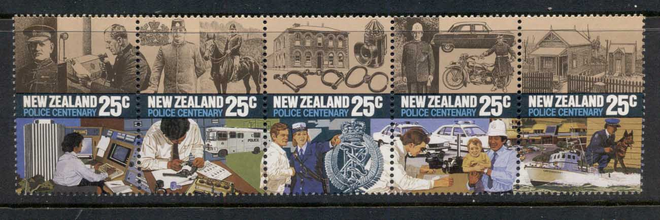 New Zealand 1985 Police Act Cent MH