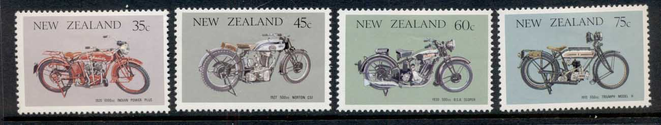 New Zealand 1986 Motorcycles MLH