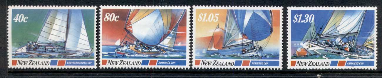 New Zealand 1987 Yacht Races MLH