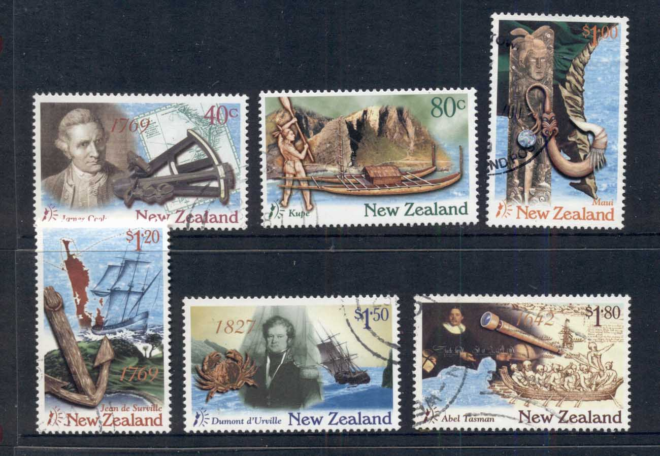 New Zealand 1997 Discoverers FU