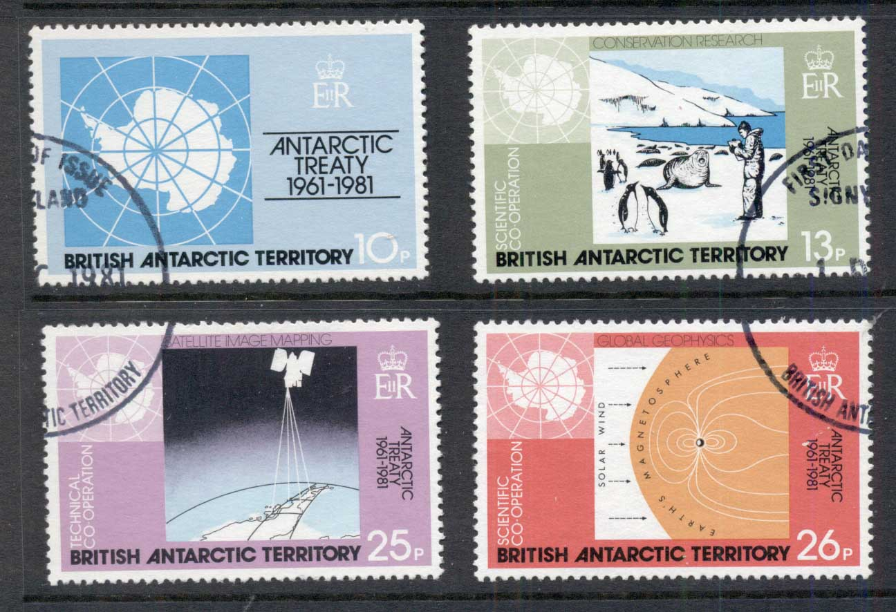 BAT 1981 Antarctic Treaty FU