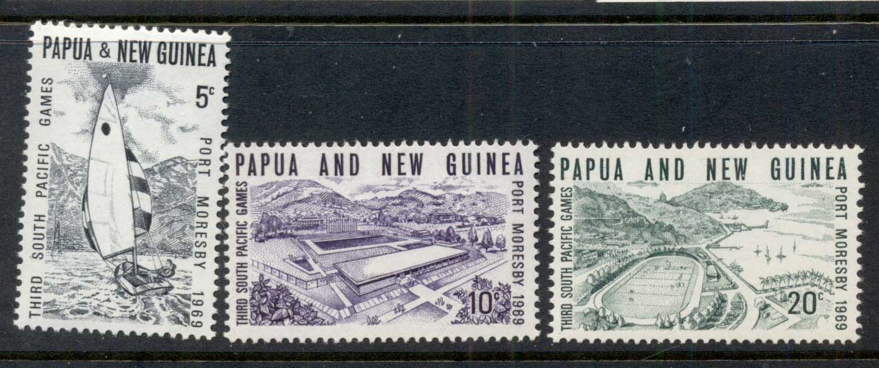 PNG 1969 South Pacific Games MUH