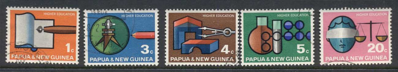 PNG 1968 University Higher Education FU