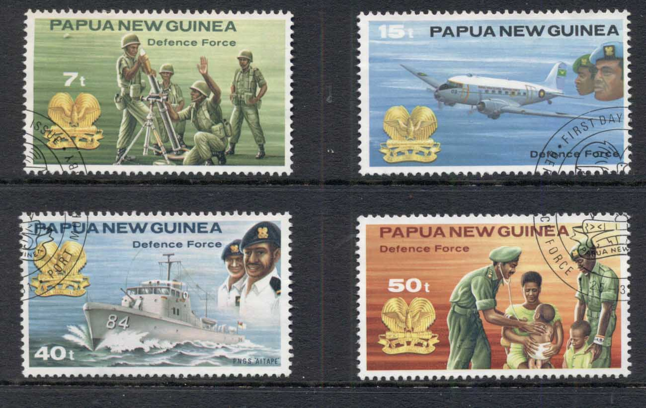 PNG 1981 Defense Forces FU