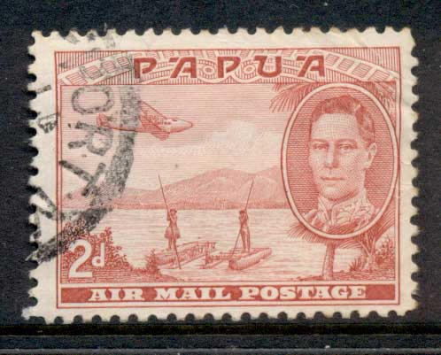 Papua 1939-41 Air Mail 2d FU